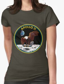 Apollo 11 Mission Logo Womens Fitted T-Shirt