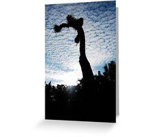 Californian sky Greeting Card