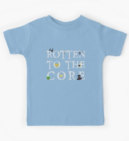 Rotten To The Core Kids Tee