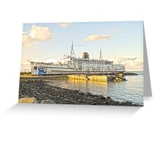 Duke of Lancaster in HDR6 Greeting Card