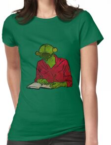 Bug Writer Womens Fitted T-Shirt