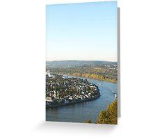 Koblenz Greeting Card