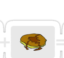 Take some bacon and put it in a pancake. Bacon Pancakes Sticker