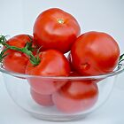 Red Tomatoes by Carolyn Clark