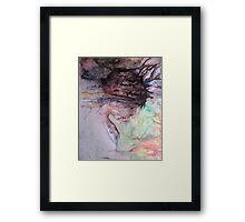 Inner Eyes (original)  Framed Print