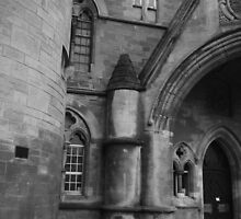 Aberystwyth University, Old College by Jacqueline Longhurst