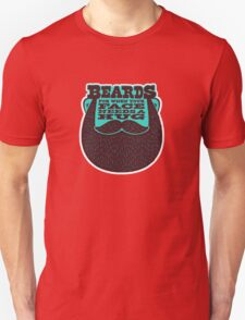 Beards! Unisex T-Shirt