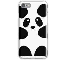 Balck Panda iPhone Case/Skin