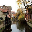 Bruges - The Canals  by rsangsterkelly