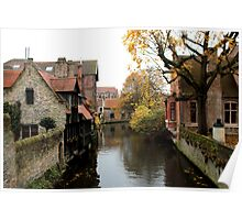 Bruges - The Canals  Poster