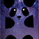 Galaxy Panda by Poulpi