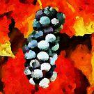Grape Cluster by DiNovici