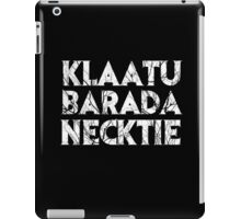 The Wrong Words iPad Case/Skin