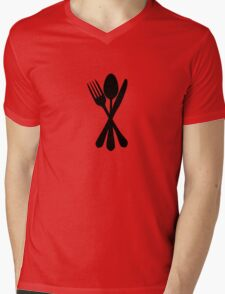 Kitchen Traffic 2 Mens V-Neck T-Shirt