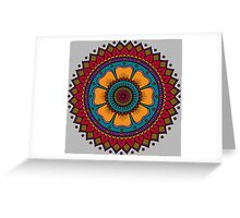 Flower Mandala Greeting Card