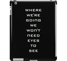Fun And Games With Dr.Weir iPad Case/Skin