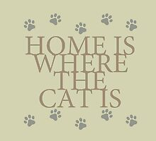 Home Is Where The Cat Is by thepixelgarden