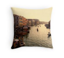 Late Afternoon Traffic Throw Pillow