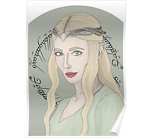 Galadriel, Lady Of Light Poster