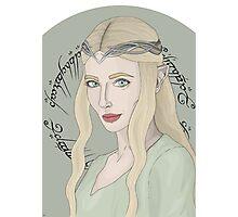 Galadriel, Lady Of Light Photographic Print