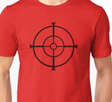 target sniper  killer geek video game Unisex T-Shirt