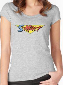 Shop Smart Women's Fitted Scoop T-Shirt