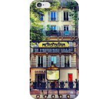 "From Paris ""Metropolitain""  iPhone Case/Skin"