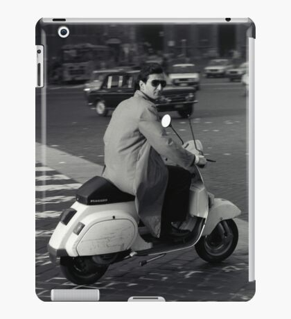Scooterman Rome iPad Case/Skin