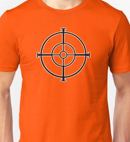 target sniper  killer geek video game Unisex T-Shirt