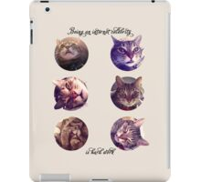 The Trouble With Internet Fame iPad Case/Skin