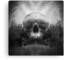 The Dark End Of The Street Canvas Print
