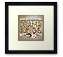 "WWE NXT The Vaudevillains ""Drama King"" Framed Print"