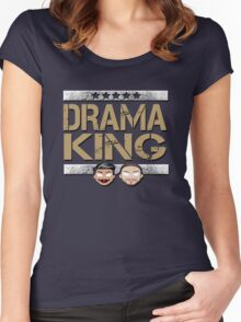 """WWE NXT The Vaudevillains """"Drama King"""" Women's Fitted Scoop T-Shirt"""