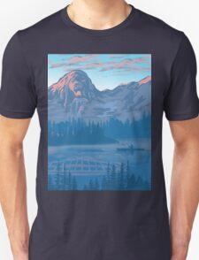 bear country landscape illustration T-Shirt