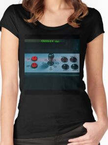 Score... Women's Fitted Scoop T-Shirt