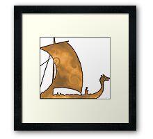 Viking Voyage Framed Print