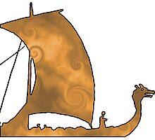 Viking Voyage Photographic Print