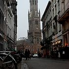 Bruges - The Belfry by rsangsterkelly