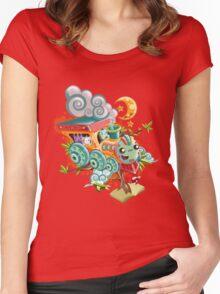 Little Train Women's Fitted Scoop T-Shirt