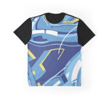 Symphony in Blue ( movement 4 - 3 ) Graphic T-Shirt