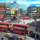 Piccadilly Circus (Vintage) by Jenn Kellar