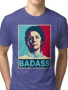 CAROL PELETIER BADASS (The Walking Dead) Tri-blend T-Shirt