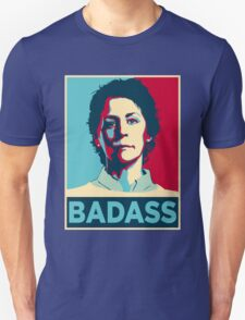 CAROL PELETIER BADASS (The Walking Dead) T-Shirt