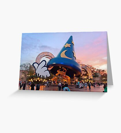 Hollywood Studios After the Rain Greeting Card