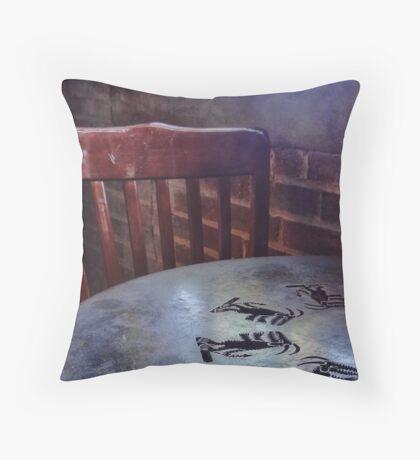 Aztec Table Throw Pillow