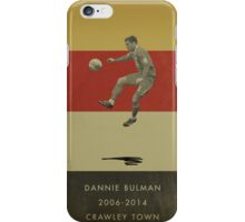 Dannie Bulman - Crawley Town iPhone Case/Skin
