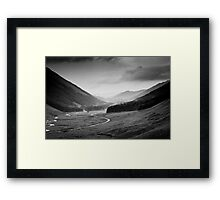 Moffat Water from near the Grey Mare's Tail, Dumfries and Galloway Framed Print
