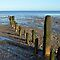 Old groynes by John (Mike)  Dobson