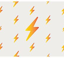 thunderbolt pattern Photographic Print