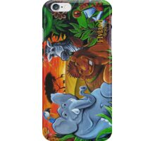 Jungle Mural iPhone Case/Skin